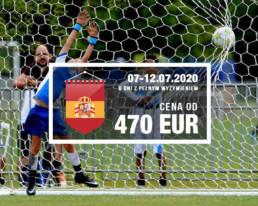 młodzieżowy turniej piłkarski w Hiszpanii